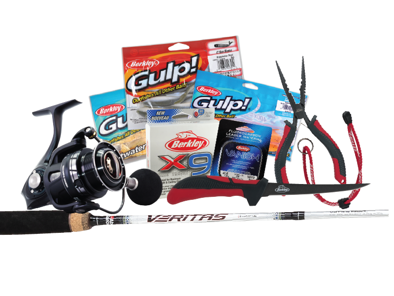 $2000 Berkley and Abu Garcia Fishing Pack